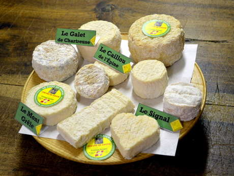 Goat cheeses of the GAEC du Signal
