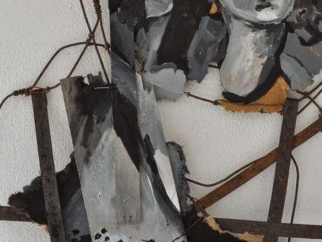 Atelier d'artiste Muriel Landerer - peinture et fil de fer