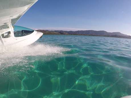Vol en hydravion de 45 min - Air Paradise Poé