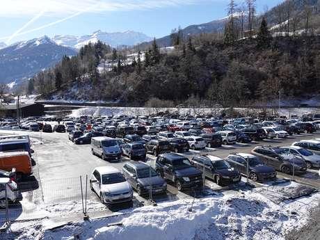 Parkplatz Curala