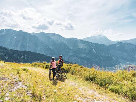 Cours et sortie VTT - Gravity Bike Bureau des Guides des 2 Alpes