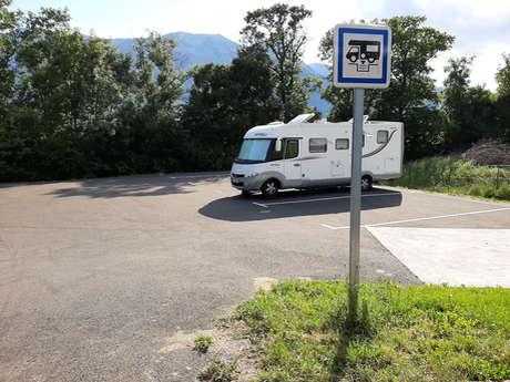 Aire de camping-car de St Bonnet