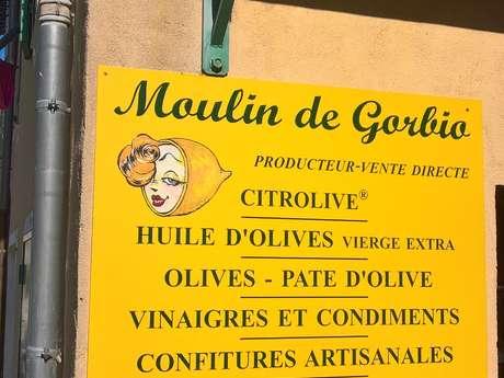 Produits du terroir - Au Moulin de Gorbio
