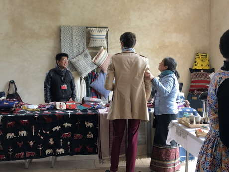 Forum traditions vivantes : Expo-vente d'artisanat d'art du monde