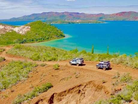 A la découverte des sources d'eau chaude de la Baie de Prony