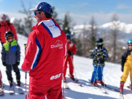 Ski alpin - ESF de Chaillol