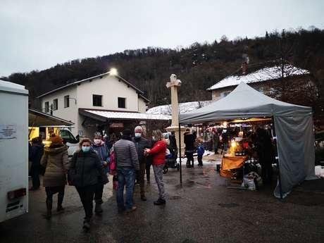 Marché du Tilleul de St Aupre