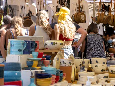 Craft Market in Port Grimaud