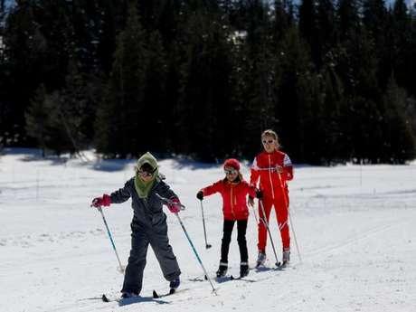 Cours de ski de fond avec l'ESF La Grave La Meije