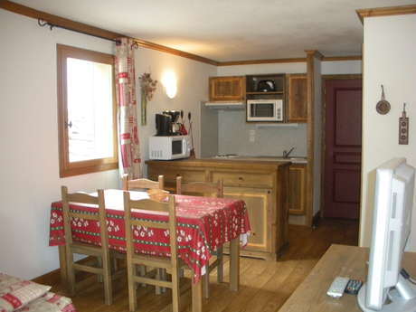 Résidence Le Clos Vanoise - Apartment 2 rooms cabine 6 people - CV5