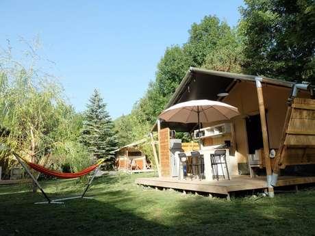 Les tentes atypiques des Rives du Lac