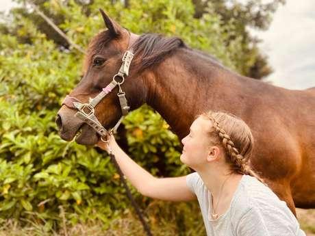 La petite cavale d'Erika - séjour poney