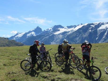 VTT et mountain bike avec le Bureau des Guides