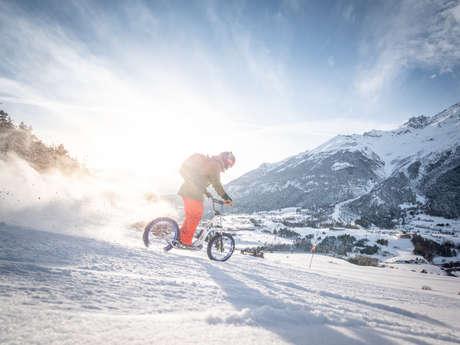 Xbike, la trottinette sur neige