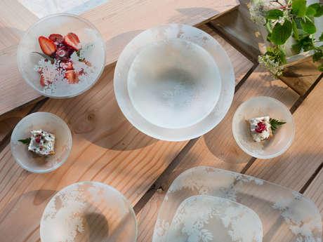 Création de vaisselle en verre