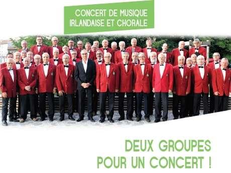 """Annulé - Concert """"Musique irlandaise et chorale"""""""