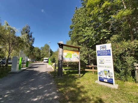 Aire de camping-car du Chatelard