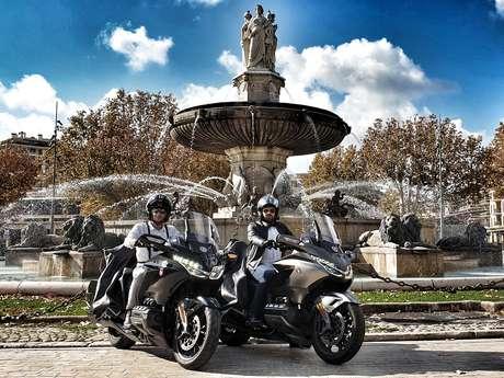 Motos-taxis de La Belle Échappée