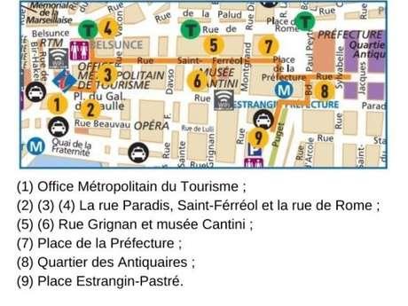 Randonnée dans le centre ville de Marseille
