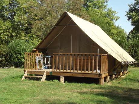 Camping le Nid du Parc Tentes Toile et Bois