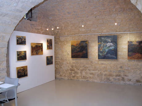 Salle d'exposition - Galerie Pigments