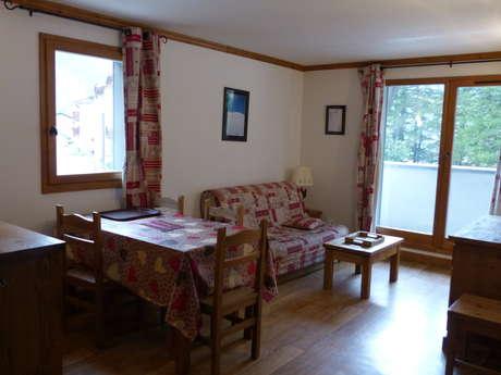 Résidence Le Clos Vanoise - Appartement 3 pièces cabine 6 personnes - CV7