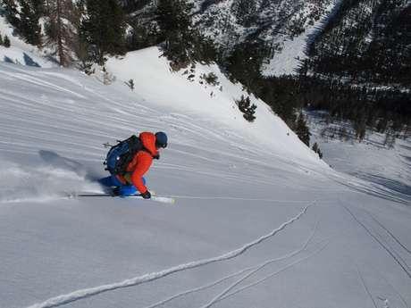 Ski de couloirs Massif des Cerces