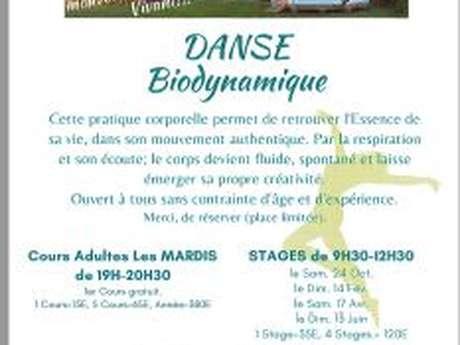 Cours de danse Biodynamique