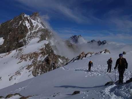 Ecole d'alpinisme dans les Écrins