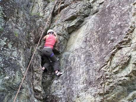 Climbing rock Villarodin