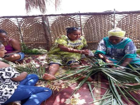 Atelier tressage  avec l'Association E Nga Ta Vuu