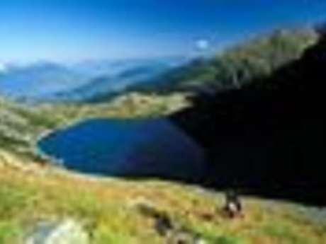 Le lac de Crop