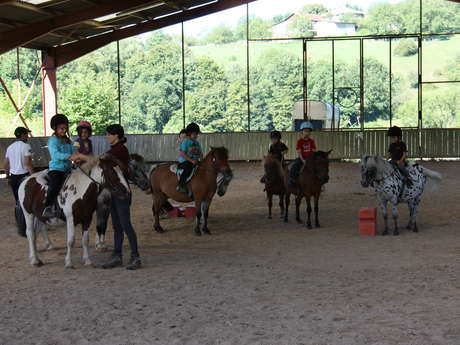 Pony games at Crossey stables
