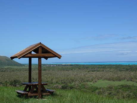 Point de vue n°2 - sur le lagon et la faille de Poé