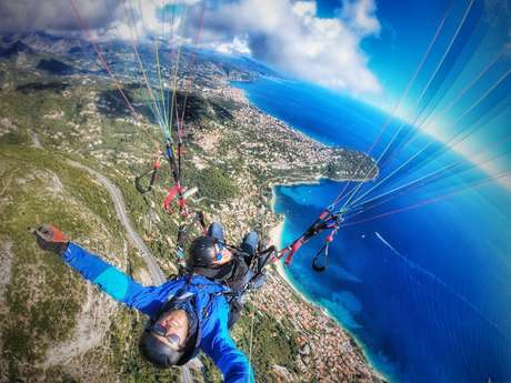 Roquebrune Cap Martin Parapente