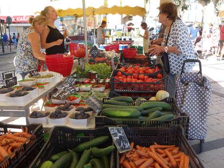 Le marché paysan du centre-ville