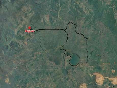 Piste 9 - Piste de la Plaine des Lacs aux Boucles de Netcha : piste inaccessible