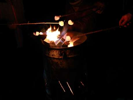 Balade nocturne - Vin chaud ou chocolat chaud