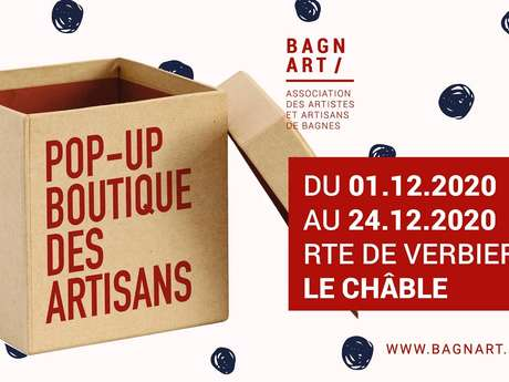 Pop-up boutique des artisans