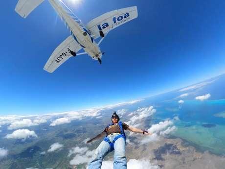 Initiation saut en parachute - Centre école de parachutisme de Nouvelle-Calédonie