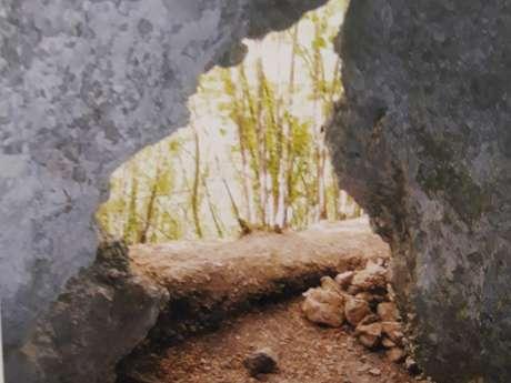 La grotte de l'Albaréa à Sospel