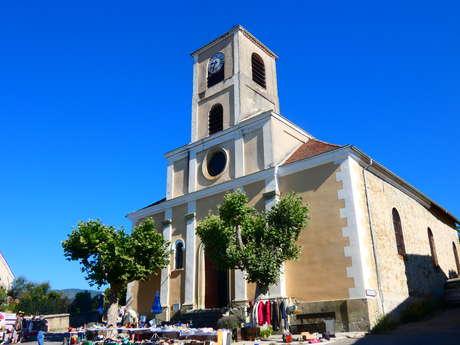 The church of Saint-Jacques le Majeur