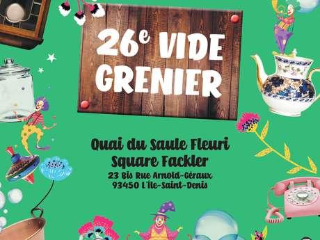 26ème vide-grenier de L'Île-Saint-Denis