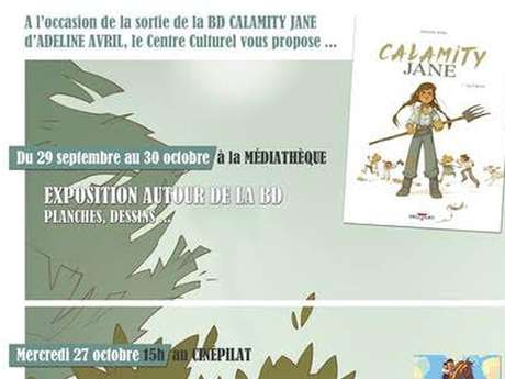 """Ciné Rencontre """"Calamity, une enfance de Martha Jane Cannary"""""""