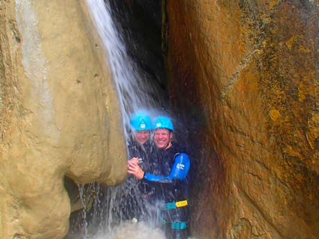 Canyon « Rabou » avec le bureau des guides des Deux Vallées