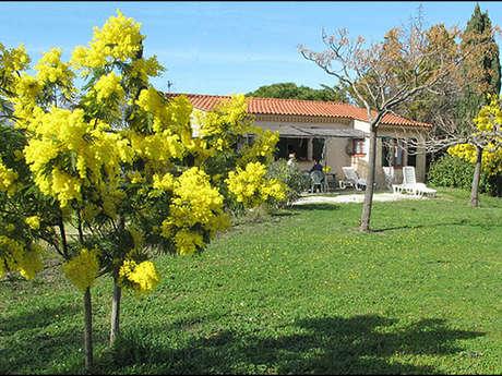 Gîte Mimosas - Au Jardin de la Ferme