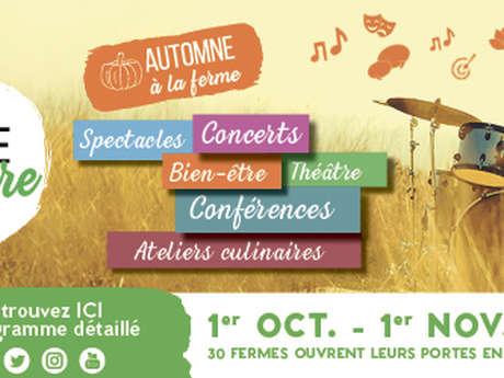 Festival Brin de Culture à la ferme auberge la Maguette