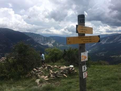Espace Trail : Villars - La Croix du Puy