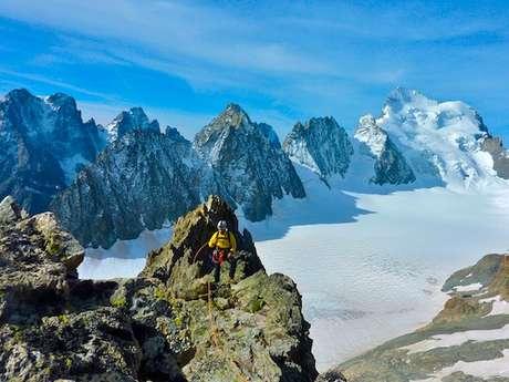 Arête sud du Pic du Glacier Blanc - 3 jours - Alpineo