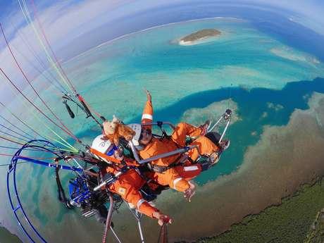 Vol en paramoteur biplace de 15 min - Vertical Lagon